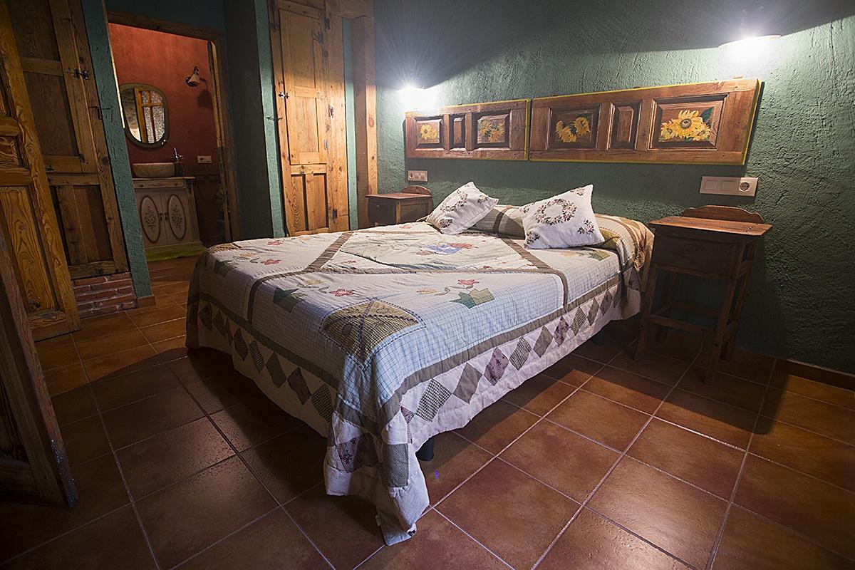 Habitación Verde - Casa Rural Navega