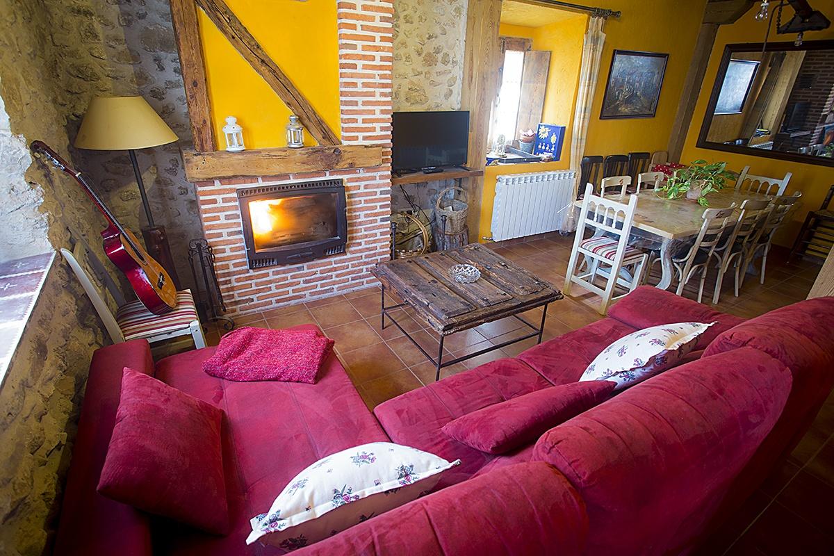 Salón - Casa Rural Navega