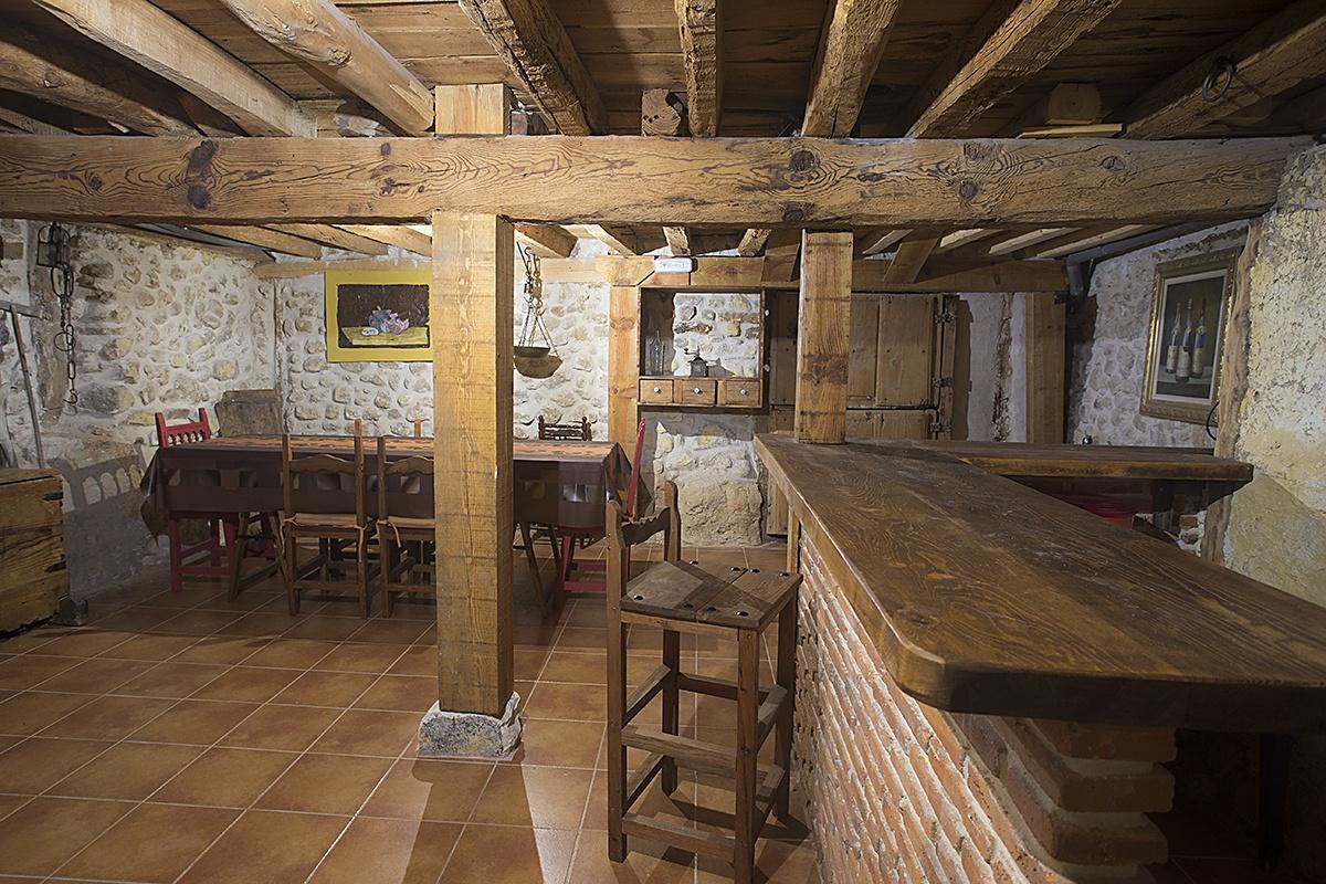 Sala Cena - Casa Rural Navega